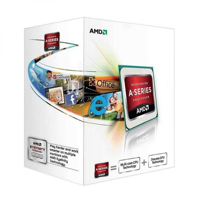 PROCESADOR AMD (FM2) X2 A4 6300 3.9GHZ