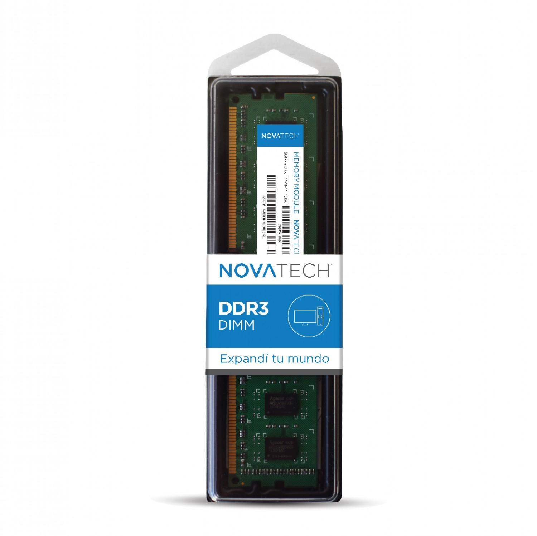 MEMORIA NOVATECH DDR3 4GB 1600 MHZ BOX