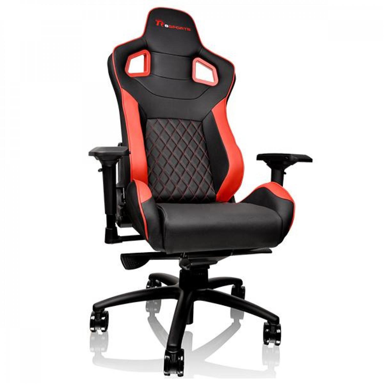 SILLA GAMER TT ESPORTS GTF 100 BLACK/RED
