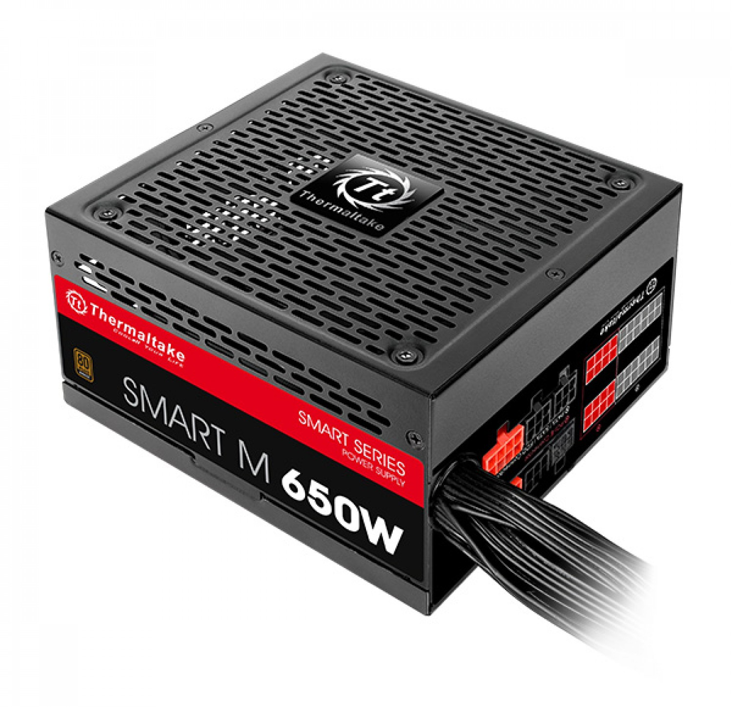 FUENTE GAMER THERMALTAKE SMART M650W PSU 80 PLUS