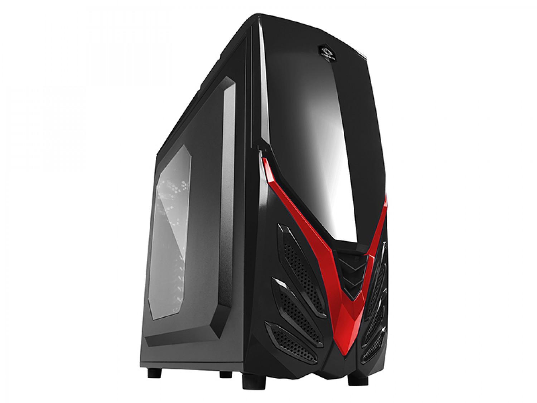 GABINETE GAMER RAIDMAX VIPER II BLACK-RED A07WBR