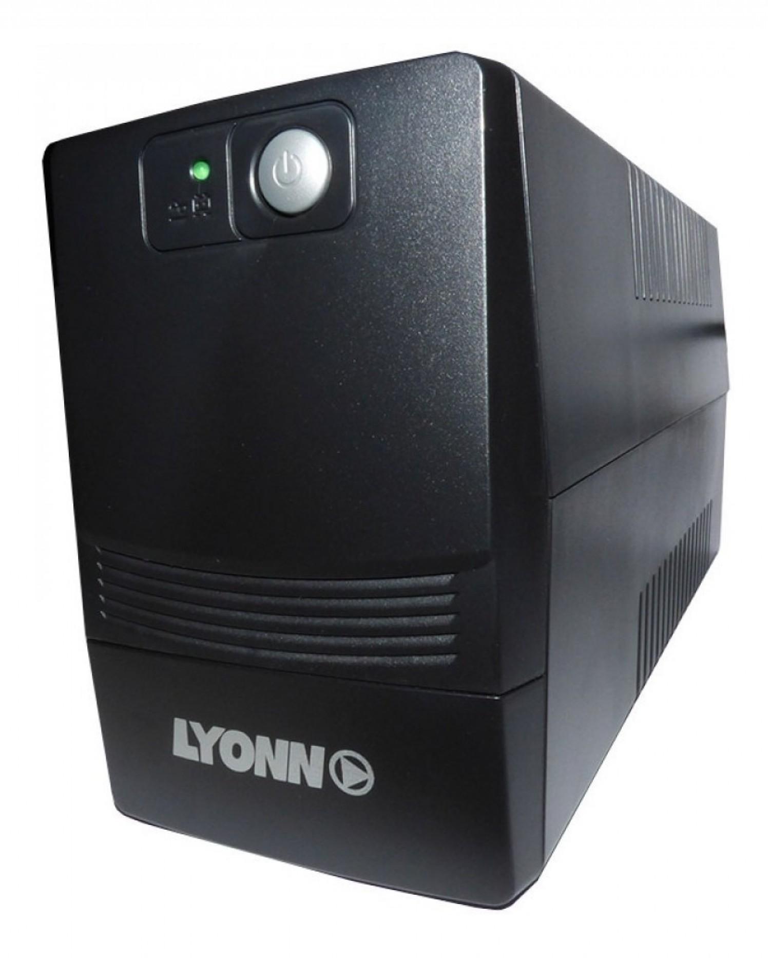 UPS LYONN CTB1200AP 1200VA 4 BOCAS