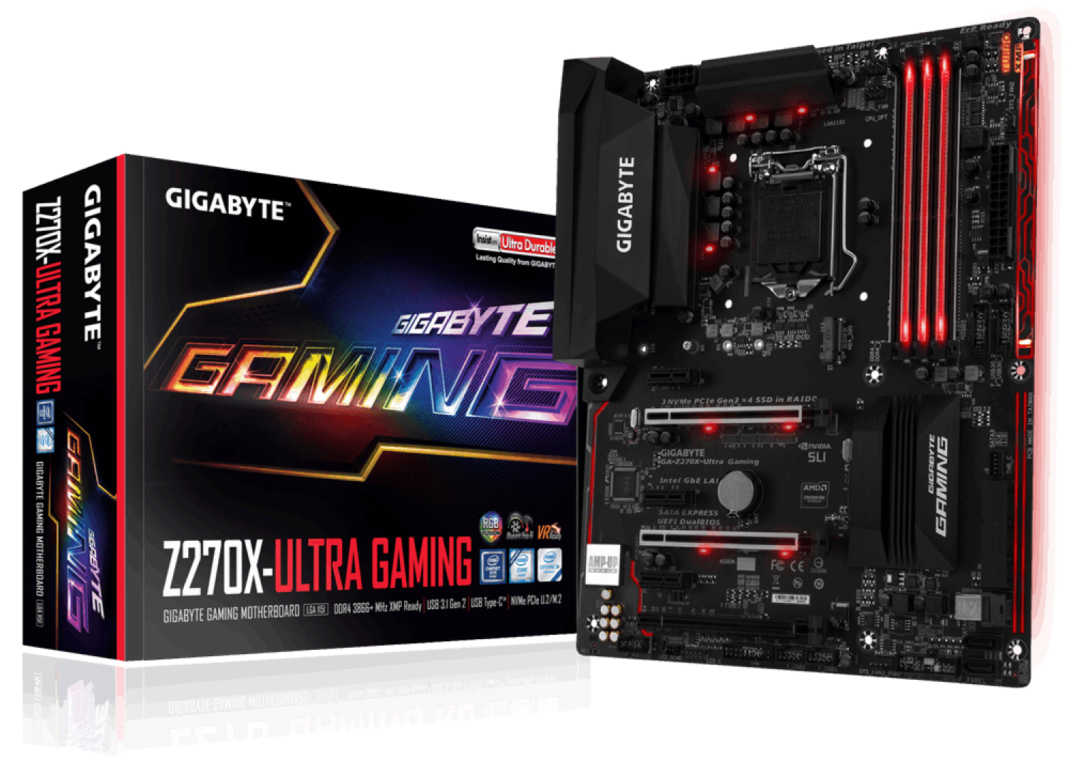 MOTHER GIGABYTE (1151) GA-Z270X-ULTRA GAMING