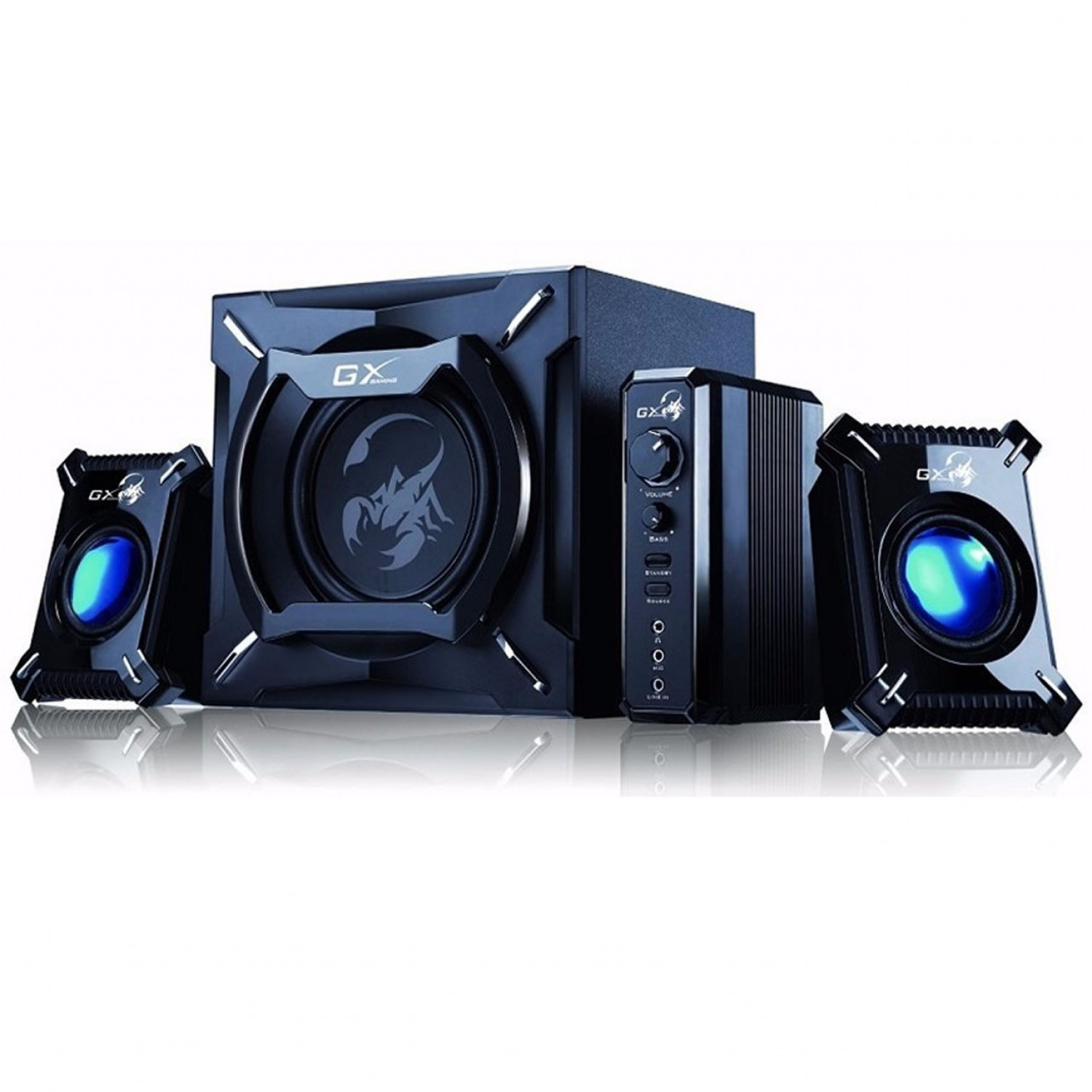 PARLANTE GX GAMING SW-G2.1 2000