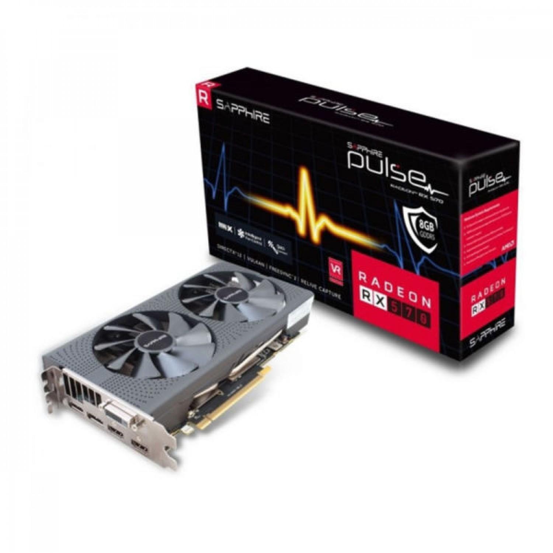PLACA DE VIDEO SAPPHIRE RADEON RX570 PULSE 8G DDR5