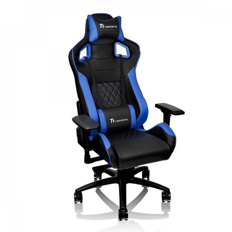 SILLA GAMER TT ESPORTS GTF 100 BLACK/BLUE