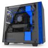GABINETE GAMER NZXT H400i MATTE-BLACK/BLUE