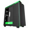 GABINETE GAMER NZXT H440 BLACK-GREEN