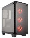 GABINETE GAMER CORSAIR CRYSTAL 460X RGB BLACK